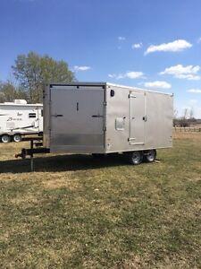 17 ft sled/atv trailer