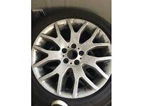 "19"" BMW X5 alloys"