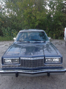 1987 Plymouth Caravelle Gran Fury needs minor repairs