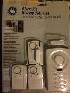 GE Alarm Kit - Home Security