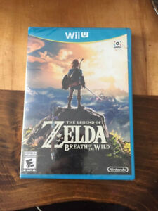 New - Legend of Zelda: Breath of the Wild - Wii U