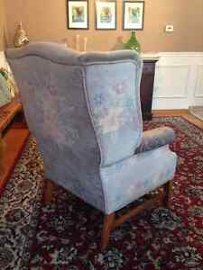 Wingback chair Kitchener / Waterloo Kitchener Area image 3