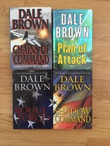 Dale Brown novel lot (Hardcover) West Island Greater Montréal image 1