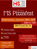 Volunteers- MS Society Pizzafest