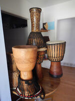 Djembe skin replacement
