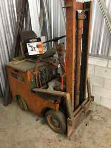 "Older 36 volt fork  lift approx 144"" Kingston Kingston Area image 1"