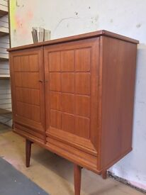Vintage teak cabinet retro