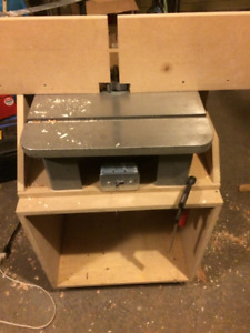 Router Table, Shaper and Mini Jointer