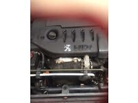 Peugeot 206 1.4 turbo Diesel engine and gearbox