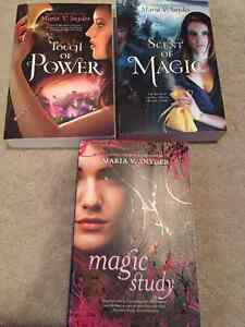 Maria Snyder - Touch of Power, Scent of Magic, Magic Study