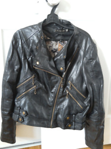 Bikers leather jacket XL