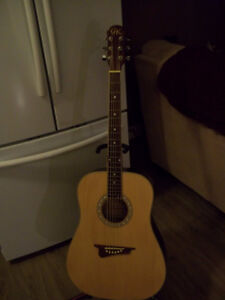 GK W400 Acoustic Guitar (new strings installed to sell)