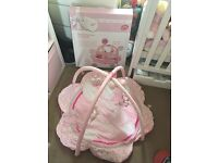 Deluxe play gym pink bunny