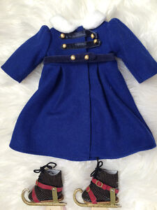 American Girl - Winter Coat with boots and detachable skates