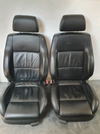Golf Mk 4 Leather Heated Seats with Switches and Kufatec Wiring Loom