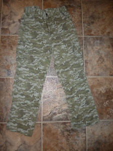 Youth Size 12 Camo Pants