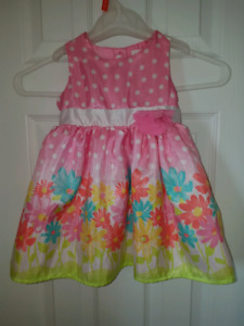 Easter dress size 12-18 months