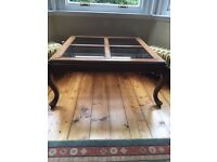 Large Coffee Table in Yew Wood