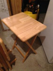 Oak TV Tables