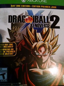 Dragonball Xenoverse 2 Xbox One w/ unused dlc