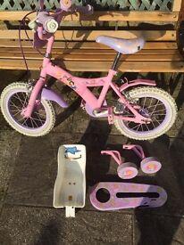 Child's Disney Princess Bike