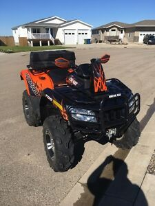 2012 Mud Pro 700 Limited Power steering