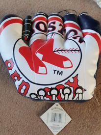 Boston Red Sox 'baseball glove' cushion