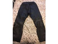 Ladies size 14 Leather Trousers