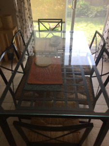 Ikea Granas table with 6 chairs