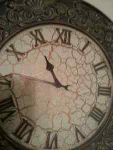 Large Decorative Wall Clock. Roman Numerals.