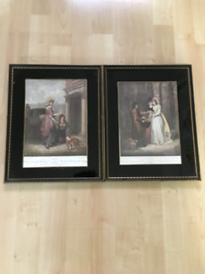 """""""Cries of London"""" Set of 2 Prints by F. Wheatly (1747)"""