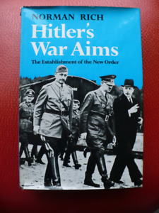 HITLERS WAR AIMS ( BOOK VINTAGE 1974 )