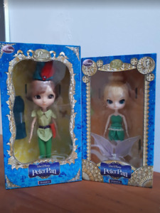 Limited Edition Pullip Peter Pan + Dal Tinker Bell Dolls