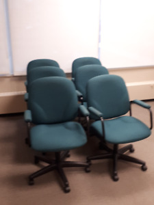 6 office chairs for sale $50. DT Halifax