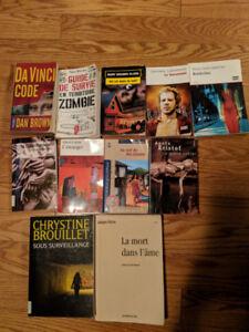Livres! De lecture, de biologie, des bandes-dessinées etc.