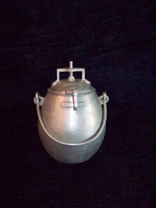 Arts and Crafts Hand Hammered Aluminum Pressure/Rice Cooker