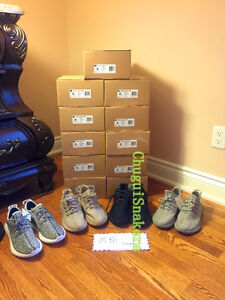 Factory Yeezy Boost 350 Black and Gray size 8, 8.5, 9, and 9.5