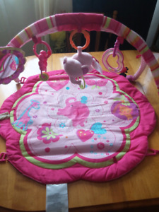 EUC Baby Girl Tummy Time Mat