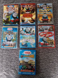 Thomas and Friends: 7 Feature Length DVD Movies