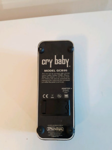 EXCELLENT CONDITION DUNLOP GCB95 CRYBABY WAH