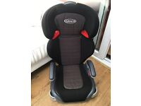 Graco children's car seat booster seat