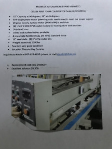 Countertop saw Midwest Automation CS5236