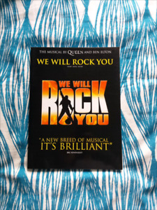 We Will Rock You the Musical Queen Music Book