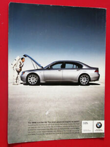 2002 BMW 745I FOR 4.4L V8 AD WITH ASTRONAUT - ANNONCE