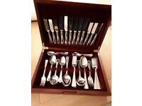 Cutlery canteen 6 place stainless steel dishwasher safe