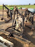 V-Plow A Frame attachments w/ Hyd Cylinders