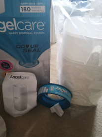 Angelcare nappy disposal system white unused