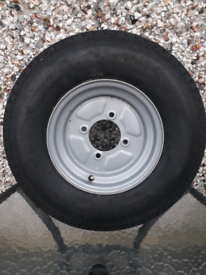 Trailer spare wheel and tyre brand new