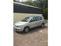 Toyota picnic 2000. 7 seater 215000 miles