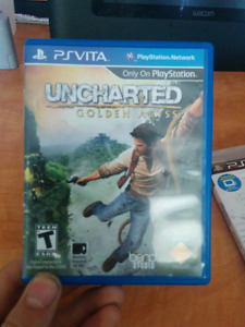 Uncharted The golden abyss PS VITA - $10